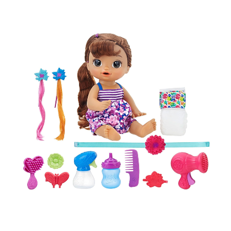 Juguete Baby Alive Cute Hairstyle
